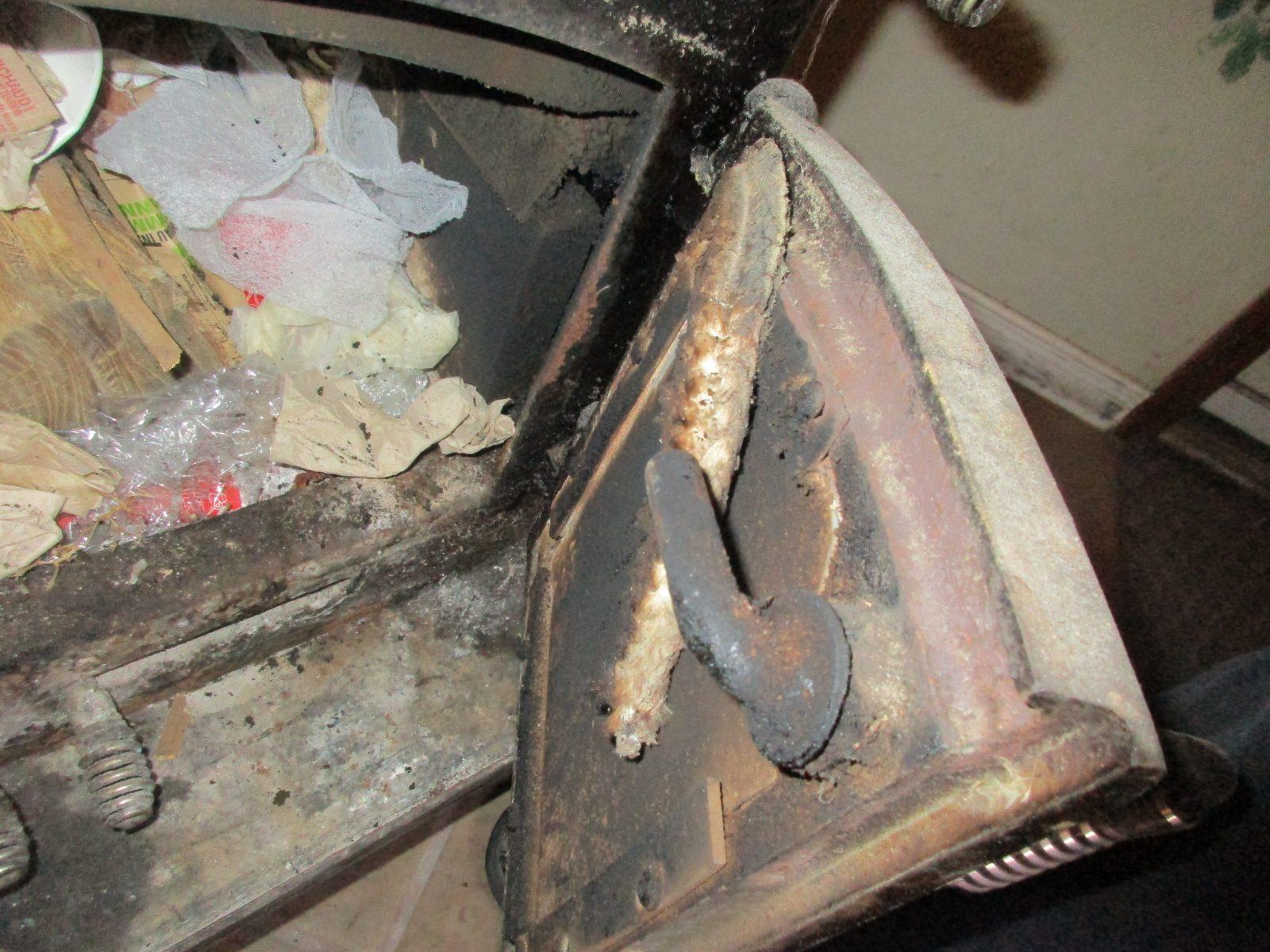 Seal has failed on wood stove door